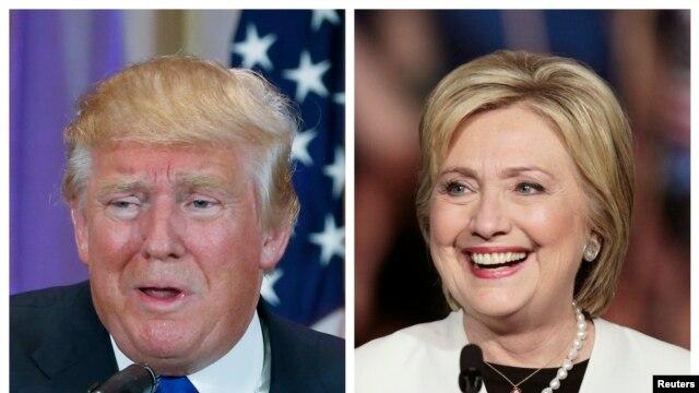 លោក Trump និងលោកស្រី Clinton នាំមុខក្នុងការតែងតាំងបេក្ខភាពប្រធានាធិបតីសហរដ្ឋអាមេរិក