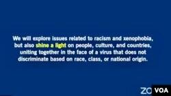 """亞洲協會舉辦""""面對新冠病毒,對抗種族主義""""全球視訊討論會"""