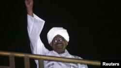 Sudanese President Omar al-Bashir in Khartoum, October 24, 2012.