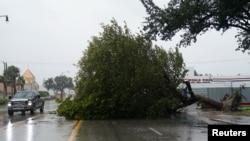 Ураган в городе Голливуд, Флорида. 10 сентября 2017 г.