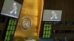U.S. Priorities For UN General Assembly