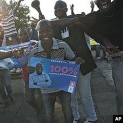Des partisans de Laurent Gbagbo