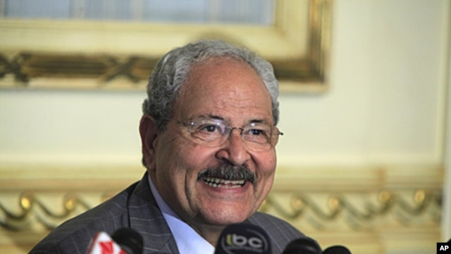 Egyptian Finance Minister Samir Radwan (file photo)
