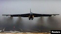 U.S. B52 bomber