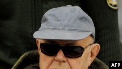 Ông Demjanjuk, 90 tuổi, bị xử tại Đức vì có dính líu trong vụ giết hại hơn 28.000 người khi làm bảo vệ trong trại tử thần Sobibor của Đức Quốc Xã