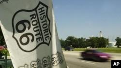미 대륙을 가로지르는 66번 국도