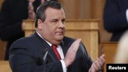 Губернатор штат Нью-Джерси республиканец Крис Кристи (архивное фото)