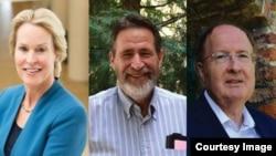 ၂၀၁၈ ဓါတုေဗဒ ႏိုဘဲလ္ဆုရွင္ ၃ဦး - Frances H. Arnold (အေမရိကန္)၊ George P. Smith (အေမရိကန္)၊ Sir Gregory P. Winter (ၿဗိတိန္)