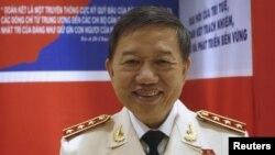Bộ Trưởng Bộ Công An Việt Nam Tô Lâm.