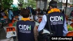 Archivo - Representantes de la Comisión Interamericana de Derechos Humanos (CIDH) visitaron El Salvador.