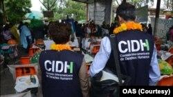 Representantes de la Comisión Interamericana de Derechos Humanos (CIDH) visitaron El Salvador. Foto de Archivo.