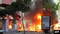 Ankarada bomba hücumu 3 adamın ölümünə səbəb olub