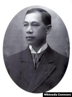 美国第一位华人律师张康仁(历史资料照)
