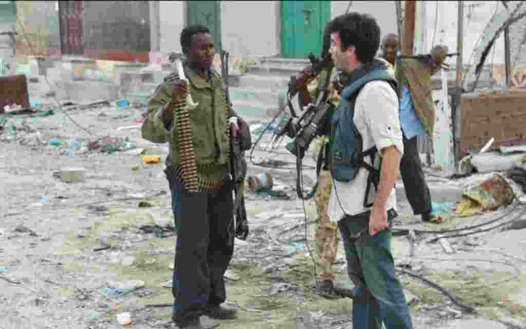 VOA East Africa Correspondent Gabe Joselow on assignment in Somalia.