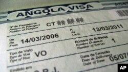 Angola contesta críticas sobre concessão de vistos a estrangeiros