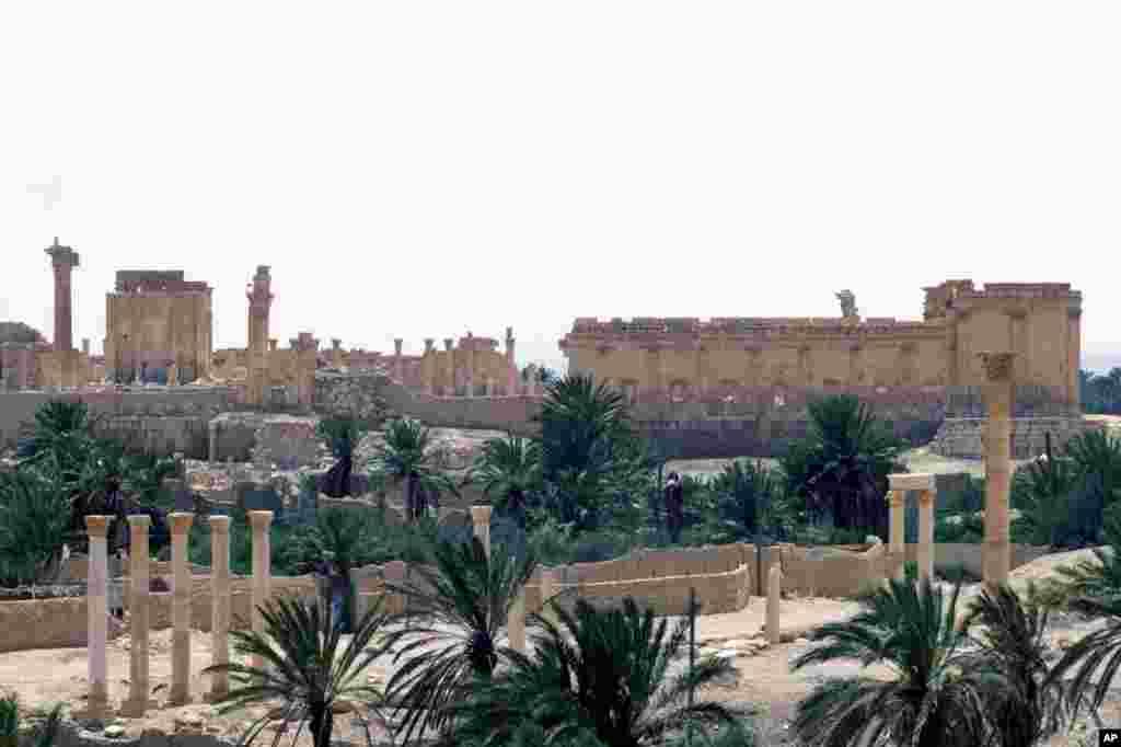 پالمیرا کی تاریخی عمارتیں دوسری صدی عیسوی میں تعمیر ہوئیں اور وہ یونانی، ایرانی اور رومن فن تعمیر کا امتزاج ہیں۔