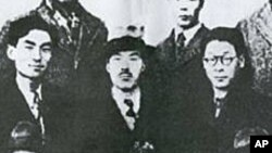 김규식 선생 (아래줄 가운데)