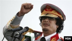 Amerika membekukan aset pemimpin Libya Moammar Gaddafi sebagai balasan atas tindakan kekerasan pemerintahannya terhadap para demonstran.