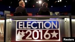 지난 13일 미국 사우스캘로라이나 주에서 열린 공화당 경선 후보 TV 토론회.