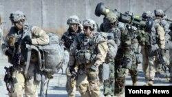 미군과 한국군 병력이 함께 지난달 경기도 포천에서 북한의 핵·미사일 등 대량살상무기(WMD) 시설을 탐색하고 파괴하는 훈련을 진행하고 있다.