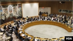 Dewan Keamanan PBB membahas kemungkinan pemungutan suara soal resolusi mengutuk kekerasan pemerintah Suriah terhadap warga sipil (foto:dok).