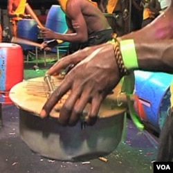 Kalimba, instrument napravljen od šerpe