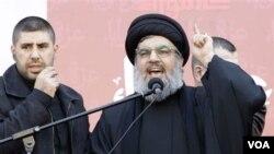 Pemimpin Hezbollah Hassan Nasrallah memperingatkan Israel untuk tidak melakukan agresi ke Lebanon (foto: dok).