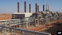 The Amenas natural gas field, where Islamist militants raided and took hostages on Wednesday Jan. 16, 2013, is seen in this undated image released by BP.