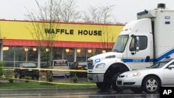 وہ ریستوران جہاں فائرنگ کا واقعہ پیش آیا