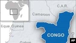 La carte du Congo où l'opposant a été arrêté.