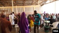 نائیجریا میں عالمی امدادی گروپ ڈاکٹرز ود آؤٹ ڈاکٹرز کا ایک طبی کیمپ۔ فائل فوٹو