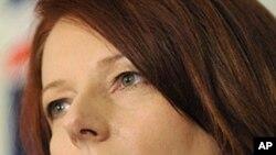 آسٹریلیا کی نئی وزیر اعظم جولیا گیلارڈ