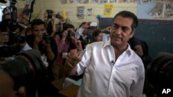 """Jaime Rodriguez, conocido como """"El Bronco,"""" un candidato independiente ganó la goberancion de Nuevo León."""