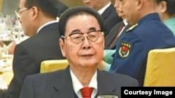 中国前总理、前人大常委会委员长李鹏 (资料图片)