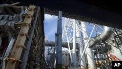 日本福島核電站(資料圖片)