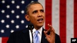 Este fue el quinto discurso sobre el Estado de la Unión del presidente Barack Obama.