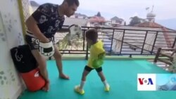 کودک ورزشکار و آرزوهای بزرگ