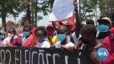 Partidos da oposição em Malanje marcharam por eleições livres em Angola