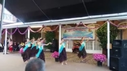 Girls performance at Embassy Lao New Year