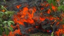 2018-05-18 美國之音視頻新聞: 夏威夷基拉韋厄火山灰燼噴射到高空