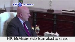 VOA60 World PM - McMaster Concludes Pakistan Talks With Call to Confront Terrorism