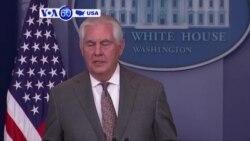 Manchetes Americanas 23 Novembro: Rex Tillerson diz que há limpeza étnica no Mianmar