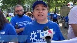 TPS Cecilia Martínez dirigente Alianza Nacional en Nueva York