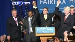 VOA60 America - U.S. Democrats are celebrating high-profile victories in gubernatorial races in Virginia and New Jersey