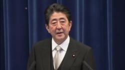 安倍11月1日(星期三)在东京的记者会 (视频来源: NTV)