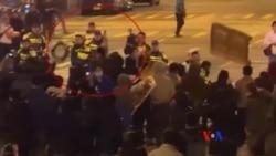 2016-02-09 美國之音視頻新聞: 香港發生警民衝突