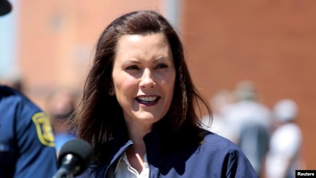 Thống đốc tiểu bang Michigan Gretchen Whitmer.
