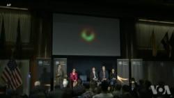 科学团队公布第一张黑洞照片