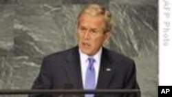 Bush On The U.N. And Terrorism