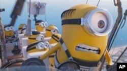 """Esta imagen de archivo publicada por Illumination y Universal Pictures muestra una escena de la película """"Despicable Me 3""""."""